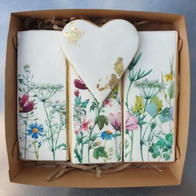 Wildflower Cookie Box