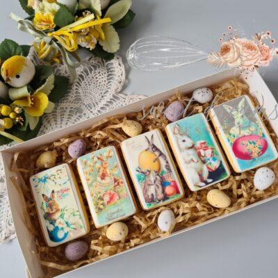 Vintage Easter Cookie Box